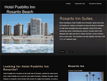 Tablet Preview of hotelpueblitoinn.net